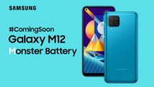 Samsung Galaxy M12 Specs and Live Images Leaked; 7000 mAh Battery in the Cards
