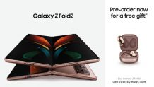 Samsung Galaxy Z Fold2 is Up for Pre-orders in Pakistan; Get Free Samsung Galaxy Buds Live