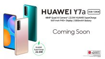 Exclusive: Huawei Y7a is Coming to Pakistan Next Week; Huawei's First Centered Punch-hole Screen