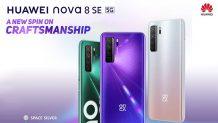 Huawei Nova 8 SE Leaked: 66W Fast Charging, AMOLED Display, But No Kirin Processor