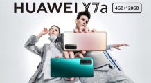 Huawei Y7a Goes Official with a Budget-friendly Price; A Rebadged Huawei P Smart 2021