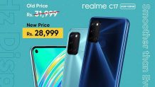 Realme C17 Price in Pakistan Slashed to Rs 28,999 after the C15's Arrival; Save Up to Rs. 3,000