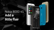 Nokia 8000 4G Announced; A Gorgeous Blast from the Past With New Features