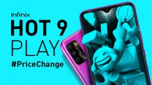 Infinix Hot 10 and Hot 9 Play Prices Increased in Pakistan by Rs 1,000; Here are the New Prices