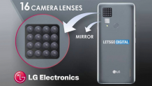 LG has just patented a phone with 16 cameras