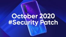 Realme 5, Realme 5s, and Realme 5i Get the October 2020 Security Update