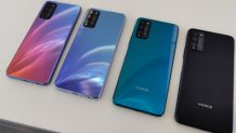 Honor 30 Lite 5G Live Hands-on Shots Reveal All Color Options Just a Day before the Official Launch