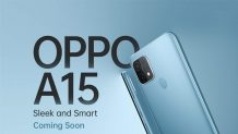 Oppo A15 Featured in a Teaser Poster on Amazon; Expected to be Announced Soon