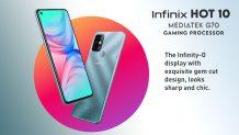 Infinix Hot 10 is Coming to Pakistan Soon with the Gaming MediaTek Helio G70 Processor