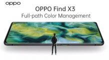 OPPO Find X3 Teased to Feature 10-bit Full-Path Color Management for the Cameras and Display