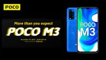 POCO M3 is Launching on November 24; Features Snapdragon 662 and a 6000 mAh Battery