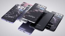Samsung Galaxy S21 Ultra, Galaxy S21 Plus, and Galaxy S21 Leaked in High-quality Product Renders
