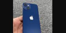First look at the iPhone 13 mini real image – redesigned rear camera