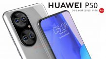 Huawei P50 showed up on new high-quality renders