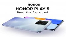 Honor Play5 official teaser reveals its 66W super fast charge