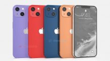 New renders of the Apple iPhone 13 appears online