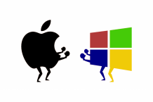 The rivalry between Apple and Microsoft is back