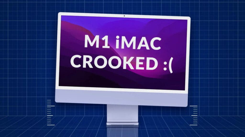 The new M1 Apple iMac has defective stands?