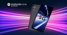 Motorola One 5G UW Ace Launched Exclusively Through Verizon